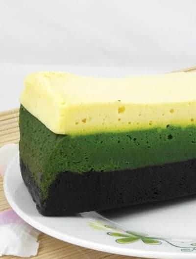 Belacan Lumut Cheese Kek Lapis