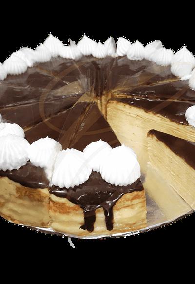 Boston Cream Mille Crepe