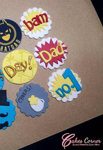 Father's Day Batman Cupcake