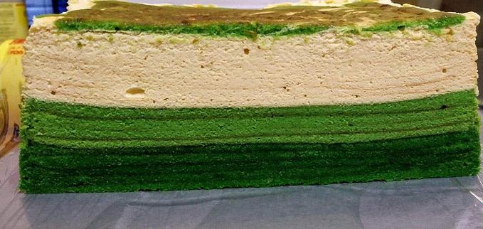 Evergreen Cheese Kek Lapis (Kek Lapis Evergreen Cheese)