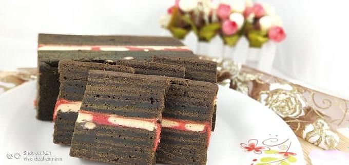 Pure Chocolate Kek Lapis (Kek Lapis Tambatan Hati)