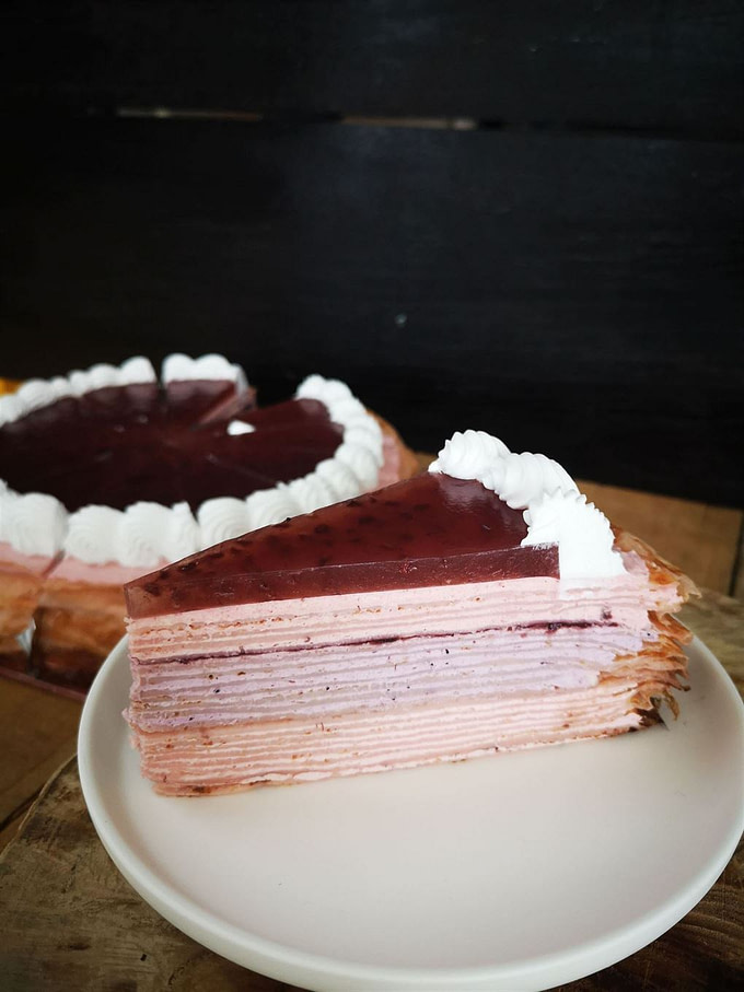 Mix Berry Cheese Mille Crepe